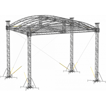 SRA30M0807 - Curved roof, 8.5x7x8 m #5