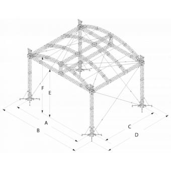 SRA40M1008 - Curved roof, 10.5x8x8 m #16