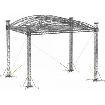 SRA40M1008 - Curved roof, 10.5x8x8 m #5