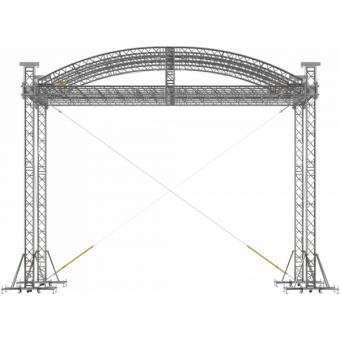 SRA40M1008 - Curved roof, 10.5x8x8 m #6