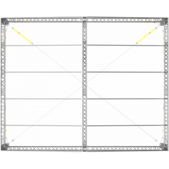 GRD30M0604 - Two-slope roof,  6x4x4.5 m #12
