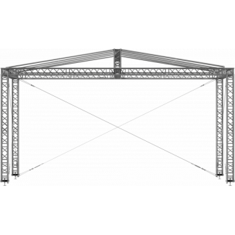 GRD30M0806 - Two-slope roof, 8x6x4.5 m #6