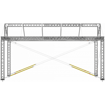 GRD30M1008 - Two-slope roof, 10x8x4.5 m #11