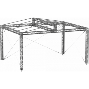 GRD30M1008 - Two-slope roof, 10x8x4.5 m #5