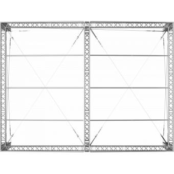 GRD30M1008 - Two-slope roof, 10x8x4.5 m #8