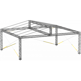 GRD30M1008 - Two-slope roof, 10x8x4.5 m #9