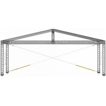 GRD30M1008 - Two-slope roof, 10x8x4.5 m #10