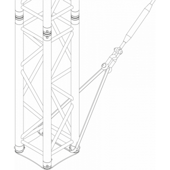 GRS30M0604 - Flat roof structure, 6x4x5 m #13