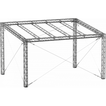 GRS30M0604 - Flat roof structure, 6x4x5 m #5