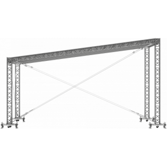 GRS30M0806 - Flat roof structure, 8x6x5 m #11