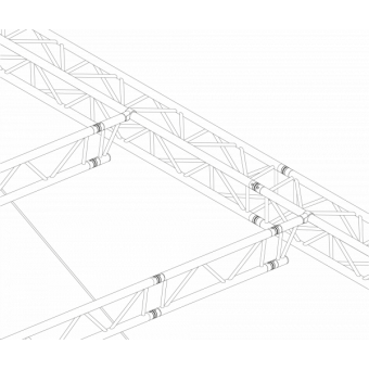 GRS30M0806 - Flat roof structure, 8x6x5 m #14