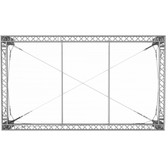 GRS30M0806 - Flat roof structure, 8x6x5 m #4