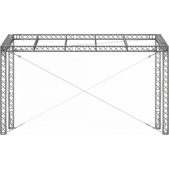 GRS30M0806 - Flat roof structure, 8x6x5 m #6