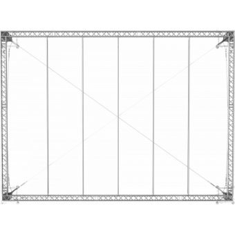 GRS30M1008 - Flat roof structure, 10x8x5 m #12