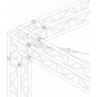GRS30M1008 - Flat roof structure, 10x8x5 m #15