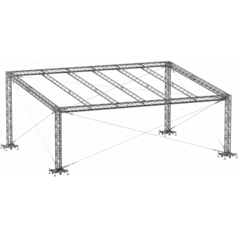 GRS30M1008 - Flat roof structure, 10x8x5 m #9