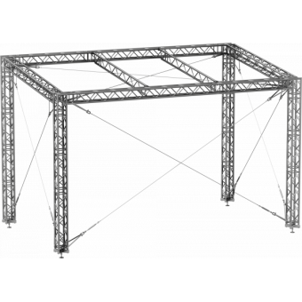 GRS30M1008 - Flat roof structure, 10x8x5 m