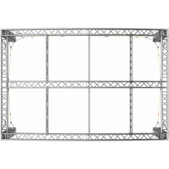 GRA30M0604 - Curved roof, truss, 6x4x4.5 m #4