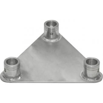 ST22FP - Aluminium ground base for triangular section trusses, ST22