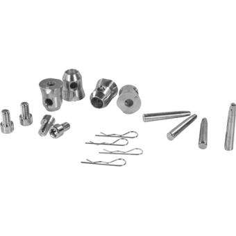 FCQ2K8 - Quick connection, 4 h/spigot, 4 pins, 4 safety spring, DQ10K8