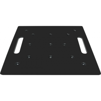 FPU5050 - Universal aluminium floor plate for square section trusses, dim. (WxH) 500x500mm