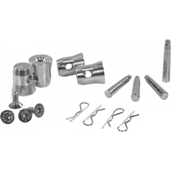 HCQ3 - Quick connection, 4 halfspigots, 4 pins, 4 safety spring, SQ22FP
