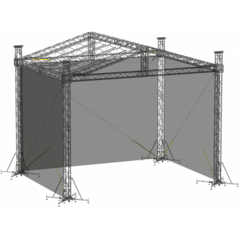 SWSRDM1210 - Side wall for SRD roof construction 12.5m x 10m x 8m #2
