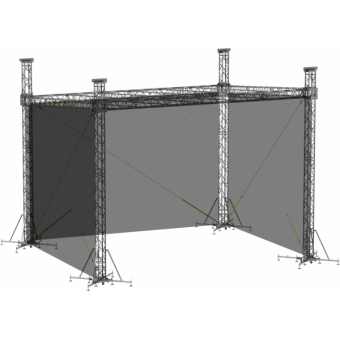 SWSRSM0604 - Side wall for SRS roof construction 6m x 4.5m x 5m #2