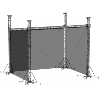 SWSRSM1008 - Side wall for SRS roof construction 10m x 8.5m x 8m