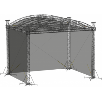 SWSRAM1210 - Side wall for SRA roof construction 12.5m x 10m x 8m #2