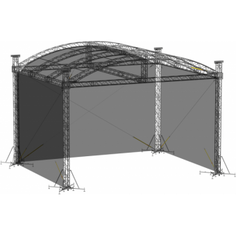 SWSRAM1210 - Side wall for SRA roof construction 12.5m x 10m x 8m #3