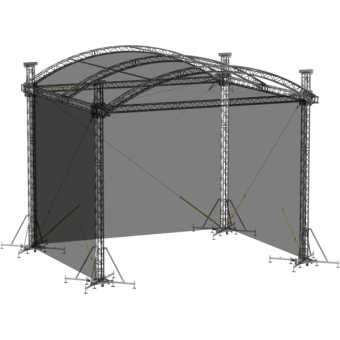 SWSRAM1210 - Side wall for SRA roof construction 12.5m x 10m x 8m