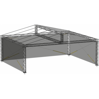 SWGRDM1008 - Side wall for GRD roof construction  10m x 8m #3