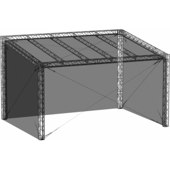 SWGRSM1008 - Side wall for GRS roof construction 10m x 8m #2