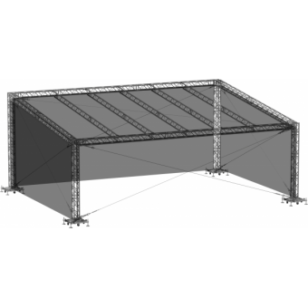 SWGRSM1008 - Side wall for GRS roof construction 10m x 8m #3