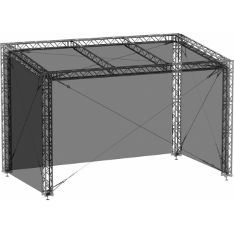 SWGRSM1008 - Side wall for GRS roof construction 10m x 8m