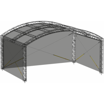 SWGRAM1008 - Side wall for GRA roof construction 10m x 8m #2