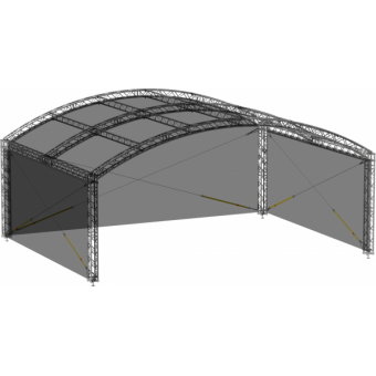 SWGRAM1008 - Side wall for GRA roof construction 10m x 8m #3