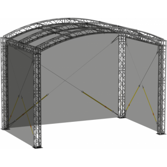 SWGRAM1008 - Side wall for GRA roof construction 10m x 8m