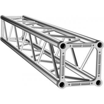 ALS34500 - Square section aluminium Truss, 29cm side, 50x2mm tube, FC kit incl., L.500cm