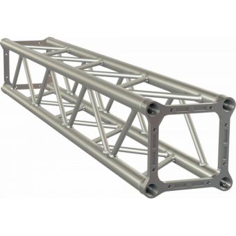 ALH34500 - Square section aluminium Truss, 29cm side, 50x3mmtube, FC kit incl., L.500cm