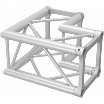 ALH34L29 - 2-way L corner for ALH34 Series, extrude tube 50x3mm, 2x ALFCQ5 included