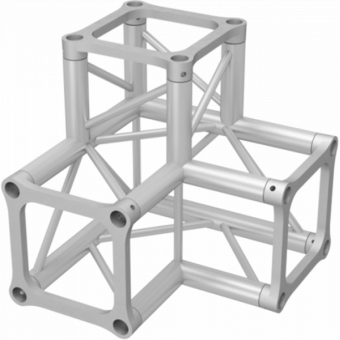 ALH34L30 - 3-way L corner for ALH34 Series, extrude tube 50x3mm, 2x ALFCQ5 included