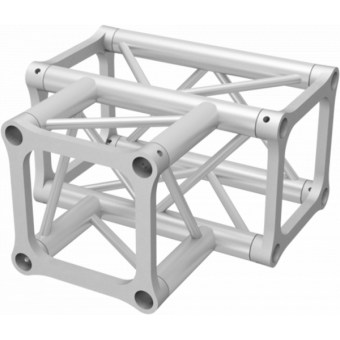 ALH34T30 - 3-way T joint for ALH34  Series, extrude tube 50x3mm, 2x ALFCQ5 included