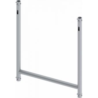 LF5H1075BK - 4-way H joint, Ø50mm, 4-pin self-locking nuts, d. 1000x750mm, BK #3