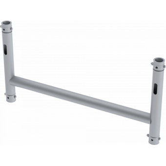 LF5H4175AL - 4-way H joint, 750x415mm, Ø 48,3mm, Connection kit included, 2,22kg, ALU