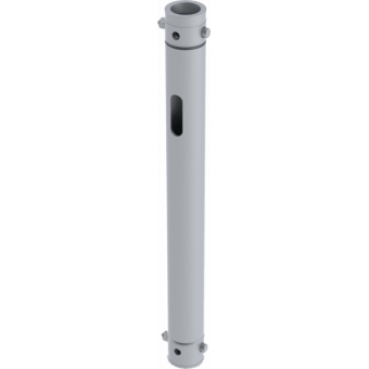 LF5P025AL - 2-way extruded tube, 2-pin self-locking nuts, 250mm, AL