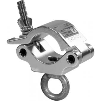 C6017A - Heavy-load aluminum clamp, 200kg loa, 48-51mm tubes, with lifting eye, Aluminium #2