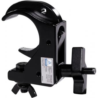 C6034B - Slim aluminum clamp, 200kg loading, 48-51mm tubes, M10 bolt, Black #2