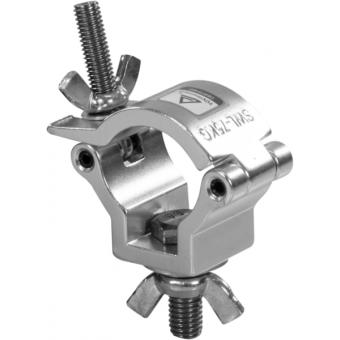 C6005A - Lightweight aluminum clamp, 75Kg load, 32-35mm tubes, M10 bolt, Aluminium #2
